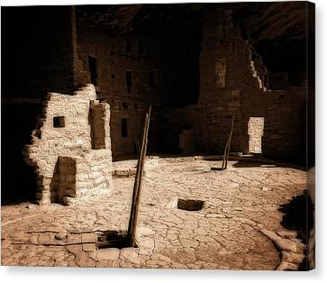 Canvas Print featuring the photograph Ancient Sanctuary by Kurt Van Wagner