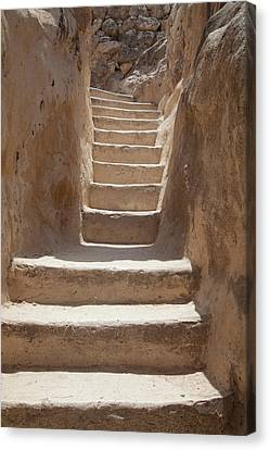 Ancient Stairs Canvas Print