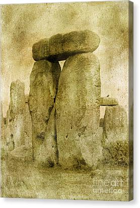 Ancient Stones Canvas Print by The Rambler