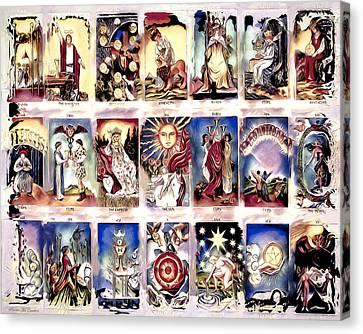 Ancient Tarot Canvas Print