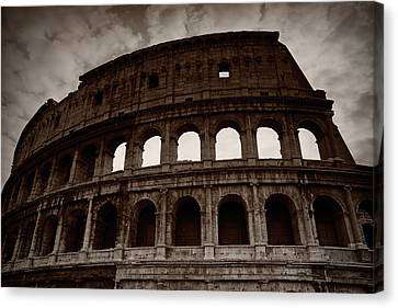 Ancient Times Canvas Print by Stefan Nielsen