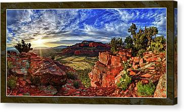 Ancient Vision Canvas Print by ABeautifulSky Photography