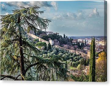 Ancient Walls Of Florence Canvas Print
