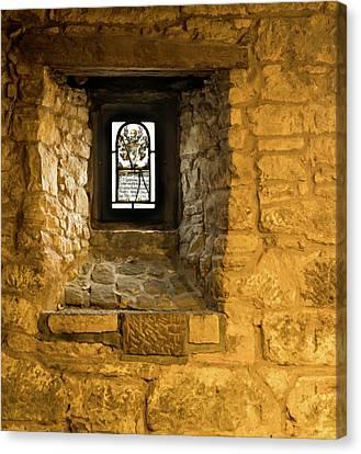 Canvas Print - Ancient Window by Jean Noren
