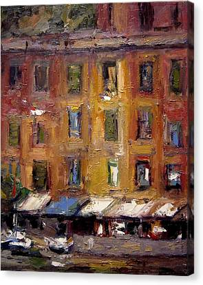 Ancient Windows X Canvas Print by R W Goetting