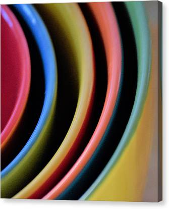 And A Dash Of Color Canvas Print by John Glass
