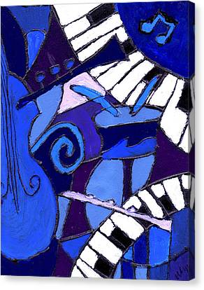 and All that Jazz 3  Canvas Print