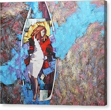 Canvas Print featuring the painting And I Dreamed by Anastasija Kraineva