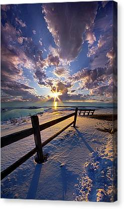 Canvas Print featuring the photograph And I Will Give You Rest. by Phil Koch