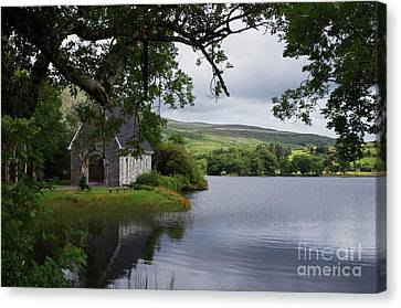 And The Land Was Very Broad, Quiet, And Peaceful Canvas Print