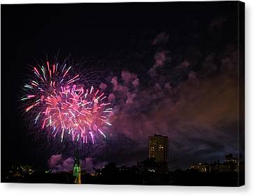 And The Rockets Red Glare Canvas Print