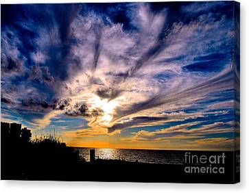 And Then There Was God Canvas Print by Margie Amberge