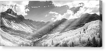 Canvas Print featuring the photograph And You Feel The Scene by Jon Glaser