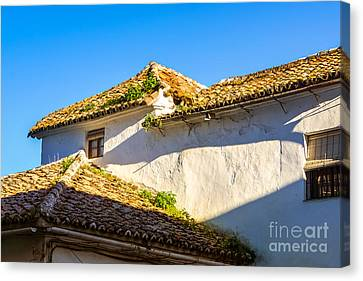 Andalusian Roofs Canvas Print