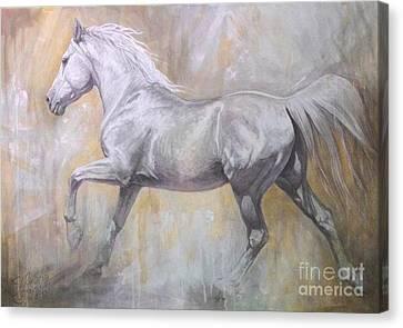 Andante Canvas Print by Silvana Gabudean Dobre