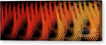 Canvas Print featuring the digital art Andee Design Abstract 22 2017 by Andee Design