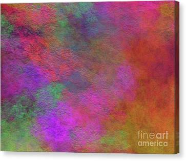 Canvas Print featuring the digital art Andee Design Abstract 37 2017 by Andee Design