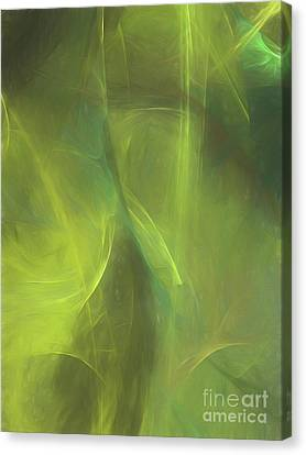 Canvas Print featuring the digital art Andee Design Abstract 58 2017 by Andee Design
