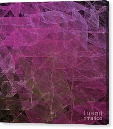 Canvas Print featuring the digital art Andee Design Abstract 67 2017 by Andee Design