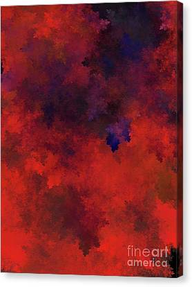 Canvas Print featuring the digital art Andee Design Abstract 73 2017 by Andee Design
