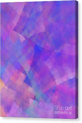 Canvas Print featuring the digital art Andee Design Abstract 75 2017 by Andee Design