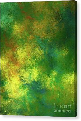 Canvas Print featuring the digital art Andee Design Abstract 78 2017 by Andee Design