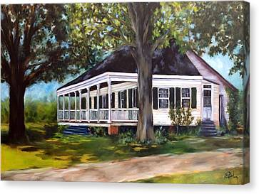 Andermann Home C.1860 Canvas Print by Betsy Doody