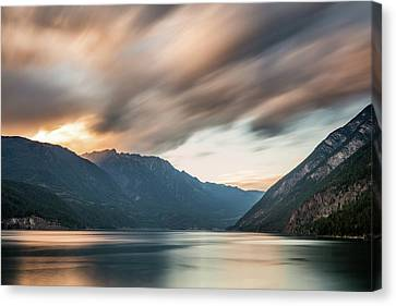 Canvas Print featuring the photograph Anderson Lake Dreamscape by Pierre Leclerc Photography