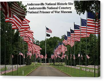 Andersonville National Park Canvas Print