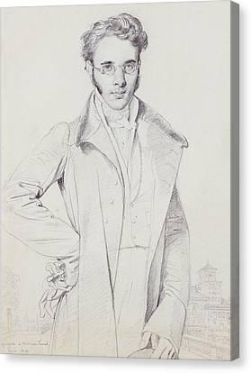 Andre-benoit Barreau, Dit Taurel Canvas Print