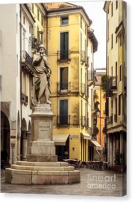 Andrea Palladio Statue Canvas Print