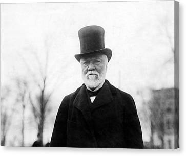 Andrew Carnegie, 1912 Canvas Print by Everett