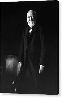 Robbers Canvas Print - Andrew Carnegie by War Is Hell Store