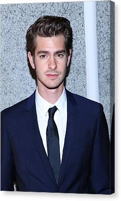 Andrew Garfield At Arrivals For The Canvas Print by Everett