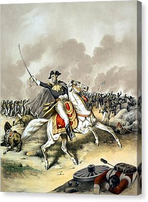 Patriots Canvas Print - Andrew Jackson At The Battle Of New Orleans by War Is Hell Store