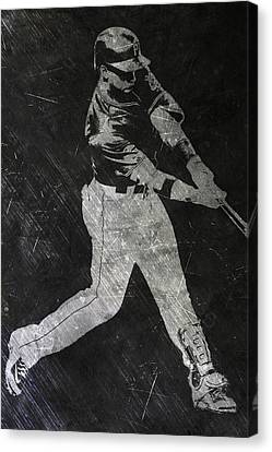 Andrew Mccutchen Pittsburgh Pirates Art Canvas Print by Joe Hamilton
