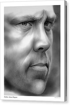 Andrew Simpson Canvas Print by Greg Joens