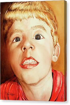 Andrew's Loose Tooth Canvas Print