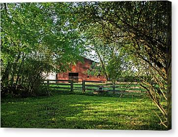 Andrews Tavern Canvas Print by Dawn Whitmore