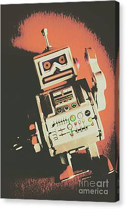 Android Short Circuit  Canvas Print