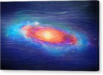 Andromeda Galaxy Canvas Print by Dan Sproul