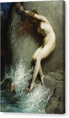 Andromeda Canvas Print by Gustave Dore