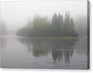 Canvas Print featuring the photograph Androscoggin River At 13-mile Woods by Juergen Roth
