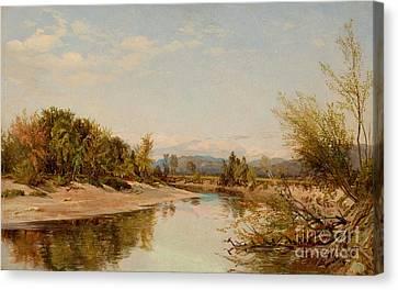 Androscoggin River Canvas Print