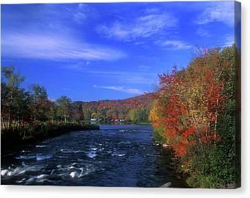 Androscoggin River Headwaters Canvas Print by John Burk