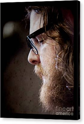 Andy Hull Of Manchester Orchestra Canvas Print