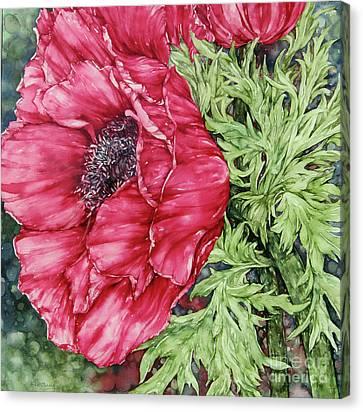 Anemone Canvas Print by Kim Tran