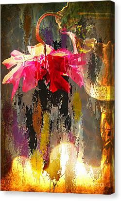 Anemone Monday Canvas Print by Jolanta Anna Karolska