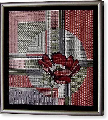 Anemonie Canvas Print by Shirley Heyn