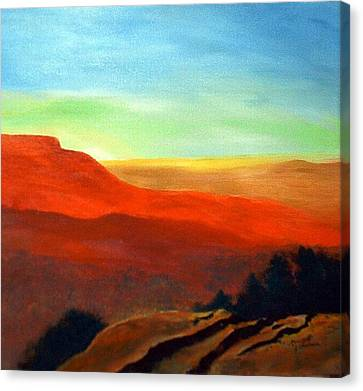 Anew Canvas Print by Julie Lamons